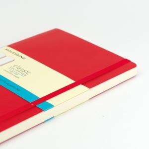 Moleskine - Moleskine A5 Classic Collection Dotted (Noktalı) Defter Soft Kapak Kırmızı 4665 (1)
