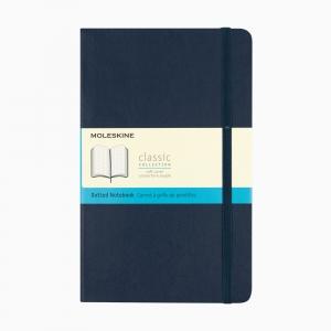 Moleskine A5 Classic Collection Dotted (Noktalı) Defter Soft Kapak Lacivert 4764 - Thumbnail