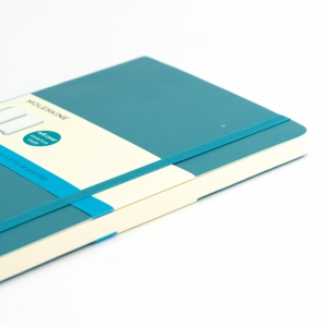 Moleskine A5 Classic Collection Dotted (Noktalı) Defter Soft Kapak Turkuaz 3678 - Thumbnail