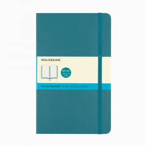 Moleskine - Moleskine A5 Classic Collection Dotted (Noktalı) Defter Soft Kapak Turkuaz 3678