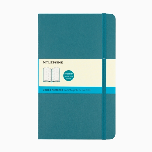 Moleskine A5 Classic Collection Dotted (Noktalı) Defter Soft Kapak Turkuaz 3678