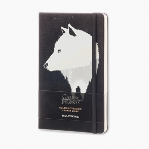 Moleskine - Moleskine A5 Game of Thrones Limited Edition Çizgili Defter 3090