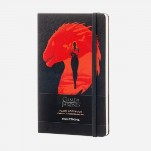 Moleskine - Moleskine A5 Game of Thrones Limited Edition Çizgili Defter 3106