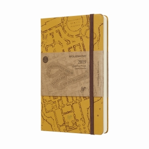 Moleskine - Moleskine A5 Harry Potter Limited Edition 2019 Günlük Ajanda 6939