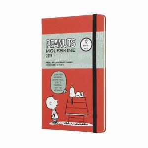 Moleskine - Moleskine A5 Peanuts Limited Edition 2019 Haftalık Ajanda 6168