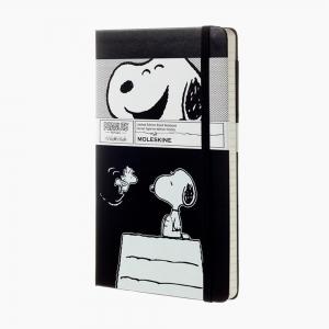 Moleskine - Moleskine A5 Peanuts Limited Edition Çizgili Defter 0744