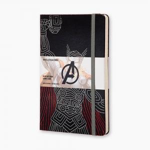 Moleskine - Moleskine A5 The Avengers Thor Limited Edition Çizgili Defter 2746