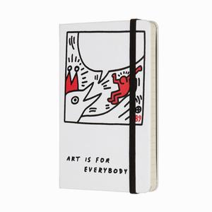Moleskine - Moleskine A6 Keith Haring Limited Edition Çizgili Defter