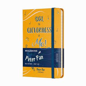 Moleskine - Moleskine A6 Peter Pan Limited Edition Çizgili Defter Sarı