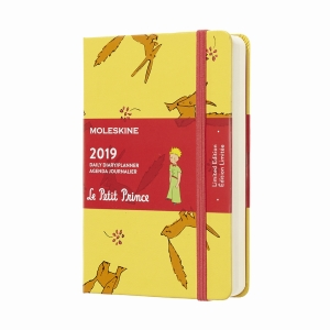 Moleskine - Moleskine A6 Petit Prince Limited Edition 2019 Günlük Ajanda 7080