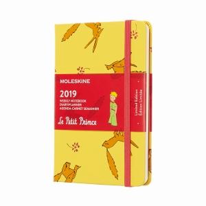 Moleskine - Moleskine A6 Petit Prince Limited Edition 2019 Haftalık Ajanda 7103