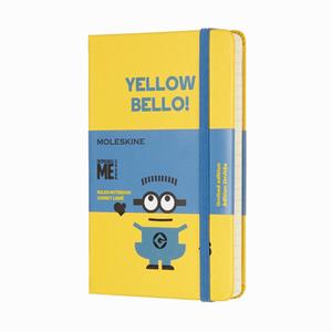 Moleskine - Moleskine A6 Yellow Bello! Limited Edition Çizgili Defter