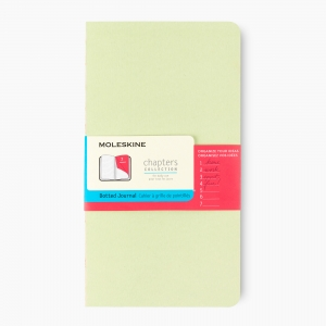 Moleskine - Moleskine Açık Dikiş Chapters Collection Dot (Noktalı) Defter Mint CPT034K9F 1314