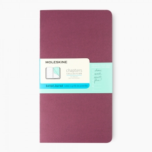 Moleskine - Moleskine Açık Dikiş Chapters Collection Dot (Noktalı) Defter Wine CPT034H8F 1307