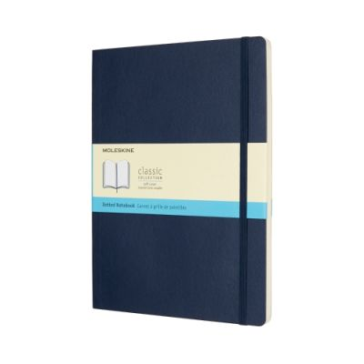 Moleskine Classic Collection Dot Defter Extra Large Saphire Blue