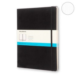 Moleskine - Moleskine Classic Collection Dot Defter Extra Large Siyah