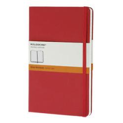 Moleskine - Moleskine Classic Collection Large Sert Kapak Çizgili Kırmızı