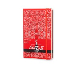 Moleskine Coca Cola Limited Edition Çizgili Defter - Thumbnail