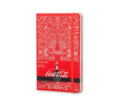 Moleskine Coca Cola Limited Edition Çizgili Defter