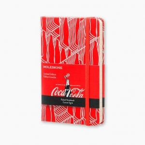 Moleskine - Moleskine CocaCola Limited Edition Small Çizgili Defter 1249