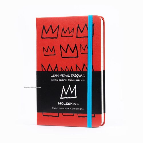 Moleskine Jean-Michel Basquiat Special Edition 9x14cm Çizgili Defter 0547