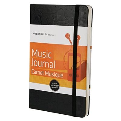 Moleskine A5 Passions Music Journal 3209