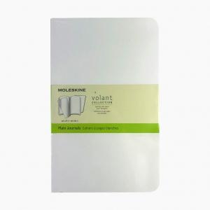 Moleskine - Moleskine Volant 2'li Perforeli Çizgisiz Defter Beyaz 0547