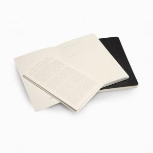 Moleskine - Moleskine Volant 2′li Perforeli Çizgisiz Defter Siyah 0493 (1)