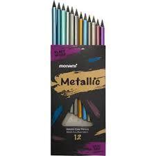 Monami - Monami Metalik Kuru Boya 12 Renk
