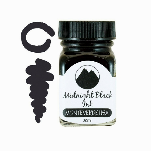 Monteverde Midnight Black 30 ml Şişe Mürekkep 0404