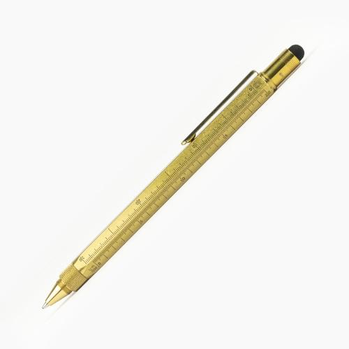 Monteverde One Touch Tool Brass Tükenmez Kalem 4803