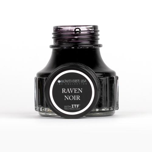 Monteverde Raven Noir 90 ml Şişe Mürekkep 3607