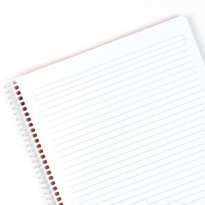 My Note - Mynote flex A4 60 Yaprak Spiralli Çizgili Okul Defteri Düz Renk 8536 (1)