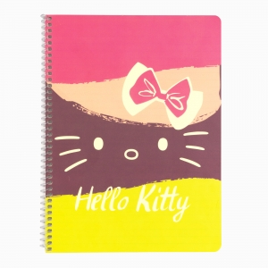 My Note - Mynote Hello Kitty Spiralli Çizgili Defter 5020-1 3806