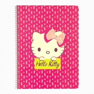 My Note - Mynote Hello Kitty Spiralli Kareli Defter 5020-2 3813