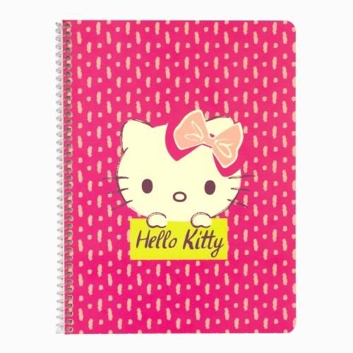 Mynote Hello Kitty Spiralli Kareli Defter 5020-2 3813