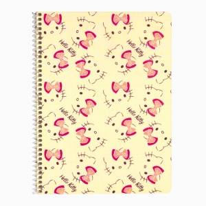 My Note - Mynote Hello Kitty Spiralli Kareli Defter 5020-4 3813