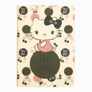 My Note - Mynote Hello Kitty Stapled Çizgili Defter 6020-1 5312