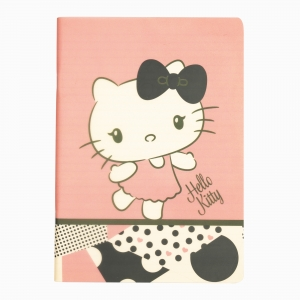My Note - Mynote Hello Kitty Stapled Çizgili Defter 6020-3 5312