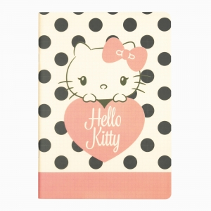 My Note - Mynote Hello Kitty Stapled Çizgili Defter 6020-4 5312