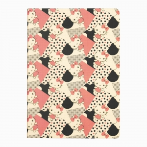 My Note - Mynote Hello Kitty Stapled Kareli Defter 6020-2 5800