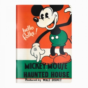My Note - Mynote Mickey Mouse Stapled Çizgili Defter Haunted House 2 5121