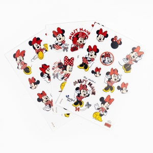 My Note - Mynote Minnie Mouse 3'lü Sticker Seti 5633