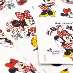 My Note - Mynote Minnie Mouse 3'lü Sticker Seti 5633 (1)