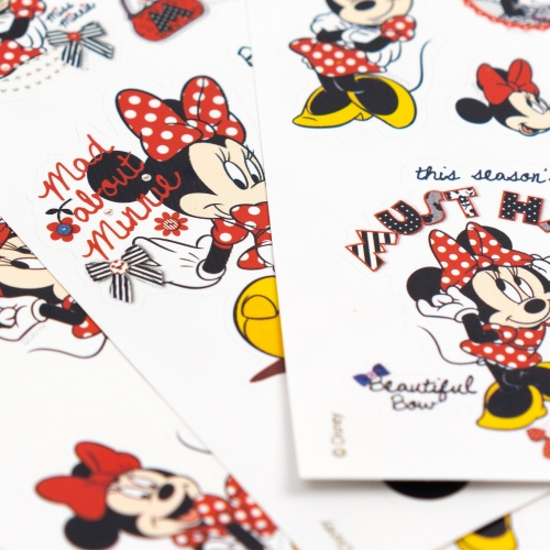 Mynote Minnie Mouse 3'lü Sticker Seti 5633