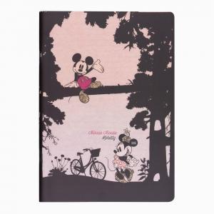 My Note - Mynote Minnie Mouse Stapled Çizgili Defter Pretty 4612