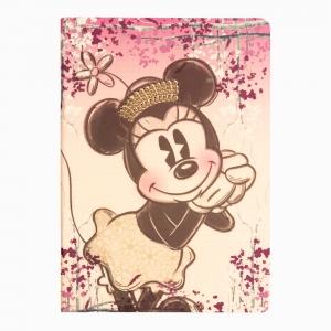 My Note - Mynote Minnie Mouse Stapled Kareli Defter Çiçekli 4629