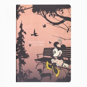 My Note - Mynote Minnie Mouse Stapled Kareli Defter No Filter 4629