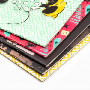 My Note - Mynote Minnie Mouse Stapled Kareli Defter No Filter 4629 (1)