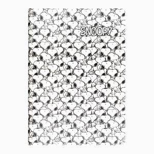 My Note - Mynote Peanuts Stapled Kareli Defter Beyaz 5244